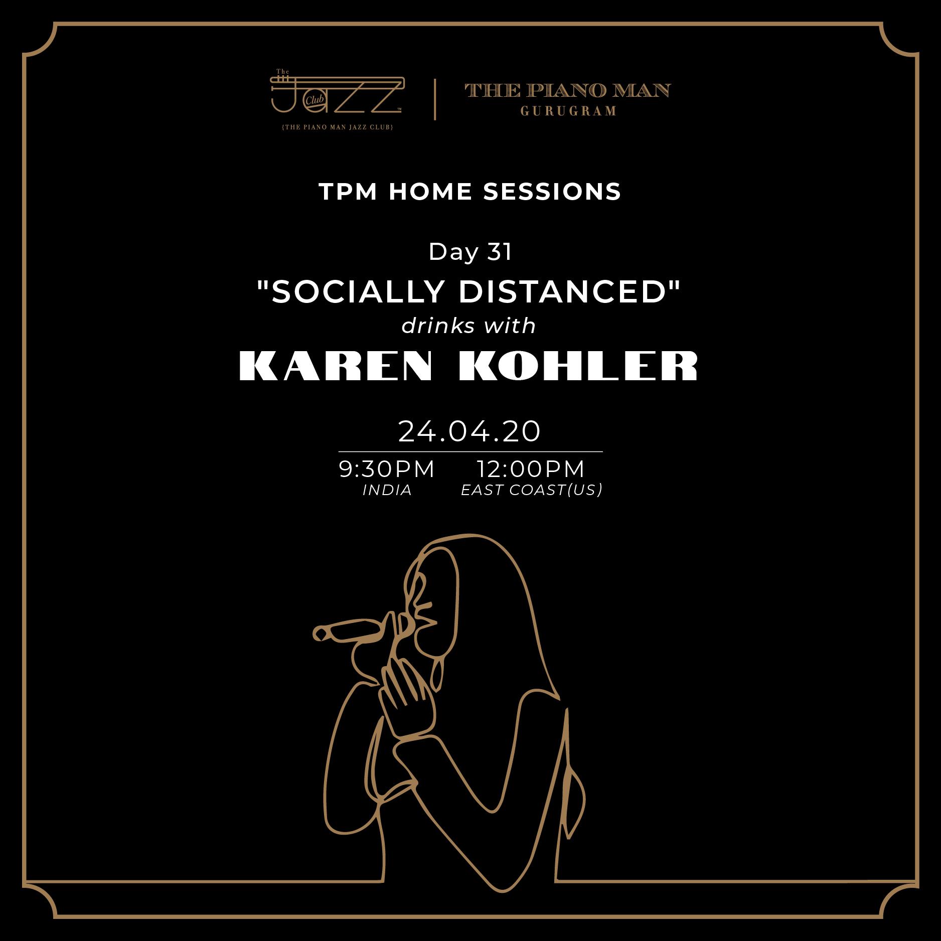 Karen Kohler on Piano Man Jazz