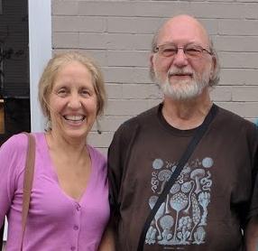 Karen Kohler and Dennis McKenna